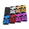 Skull Skeleton Silicone Hybrid Hard Soft case for iphone 5/5S/5SE