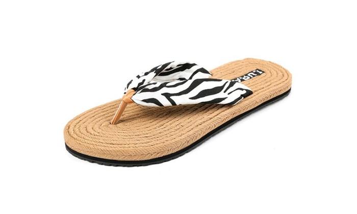 SSL: Women Non-slip Flip-Flops Beach Shoes L068AW