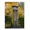 Kurt Shaffer 'Autumn Columns' Canvas Art