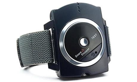 Infrared Snore Stopper Anti Snoring Device Bio-Sensor Infrared Wristband Watch 0218fa5e-76bb-486d-a464-7250991a76be