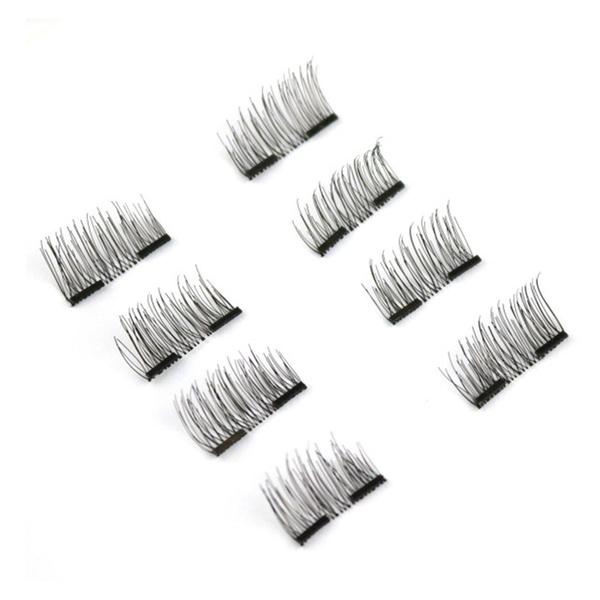 91c9a0ff31e BeaLuz Magnetic False Eyelashes Reusable 3D Ultra Thin (8 Pieces) | Groupon