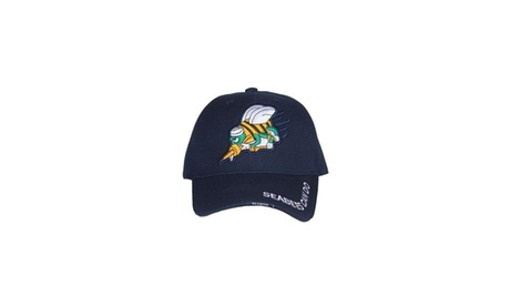Fox Outdoor 78-4121 Embroidered Ball Cap Navy HD Division - Seabees (Goods  Men s 31ba4626183d