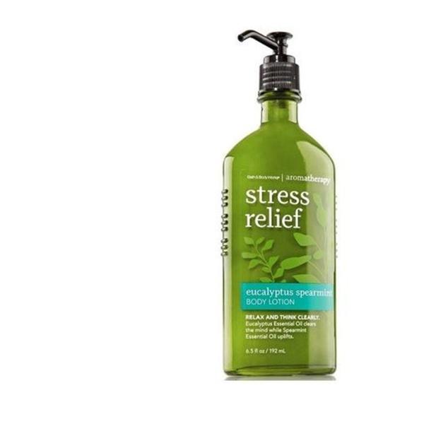 Bath And Body Works Stress Relief Eucalyptus Spearmint Body Lotion