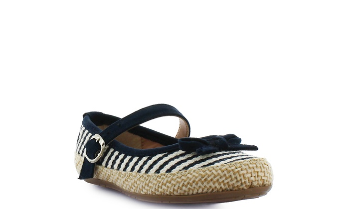 d3e4bf81a42e9 Up To 23% Off on Tropicana girls striped flats...   Groupon Goods