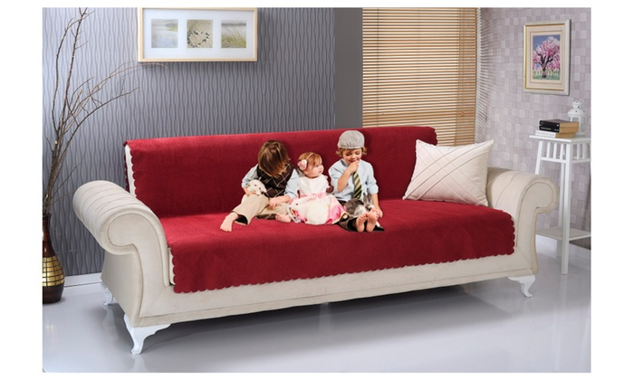 Chiara Rose Anti Slip Sofa Size Pet Cover Furniture