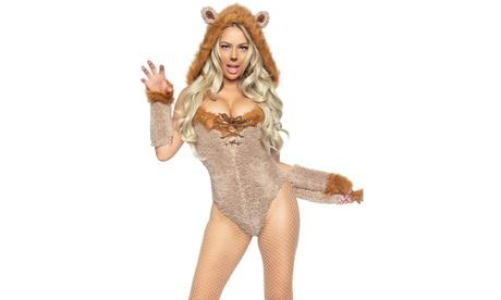Leg Avenue Women's Savage Lion Sexy Costume