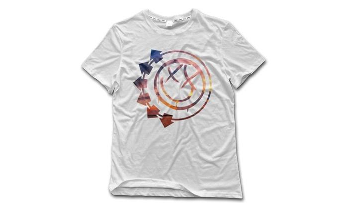 HIDALGO's store: Blink 182 Face Mens T-Shirt