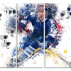 Hockey Penalty Shot - Large Sport Canvas Art Print
