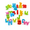 3D Puzzle Toy Colorful Wooden Baby Kids Letter Digital Recognise Early