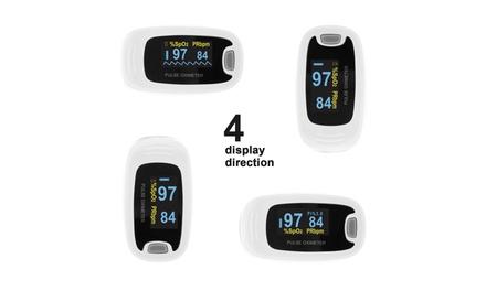 OLED Fingertip Pulse Oximeter Finger Blood Oxygen SpO2 PR Heart Rate Monitor,O2