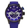 So & Co New York Men's Chronograph Genuine Leather Strap Watch  GP16097