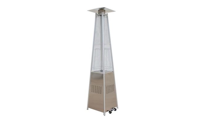 42000btu Outdoor Pyramid Propane Gl Dancing Flame Patio Heater