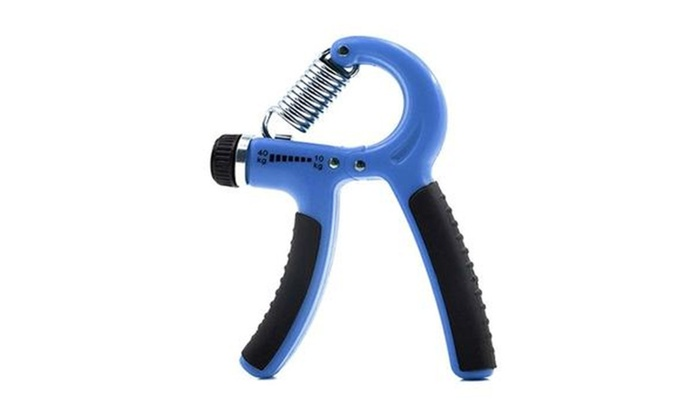 fitness accessoires exercise adjustable hand grip strengthener grouponsold by rexona