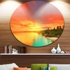 Beautiful Coastline in Philippines' Extra Large Seascape Metal Wall Decor