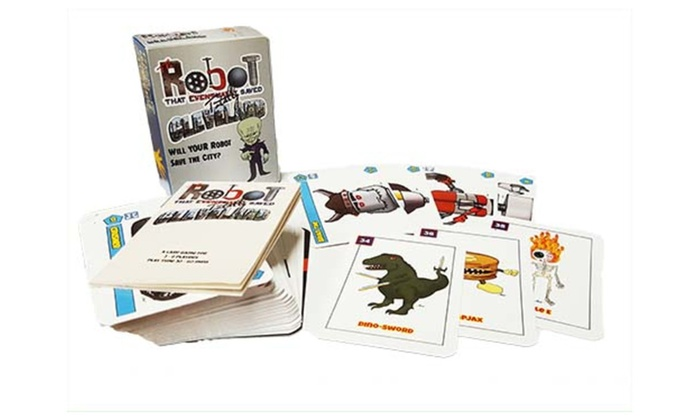 Robot That Totally Saved Cleveland - Card Game