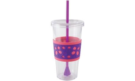Copco 24oz. Cold Drink Tumbler with Straw 116359ae-7975-4cc8-b0ad-31a52f5f461f
