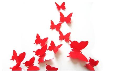 Beautiful 3D Effect Butterfly Wall Art DIY Wall Art 28d4b8bd-0e6e-4639-912a-fca7a61fdb24