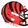 Autographed AJ Green Cincinnati Bengals Ridell Mini Helmet FHS242