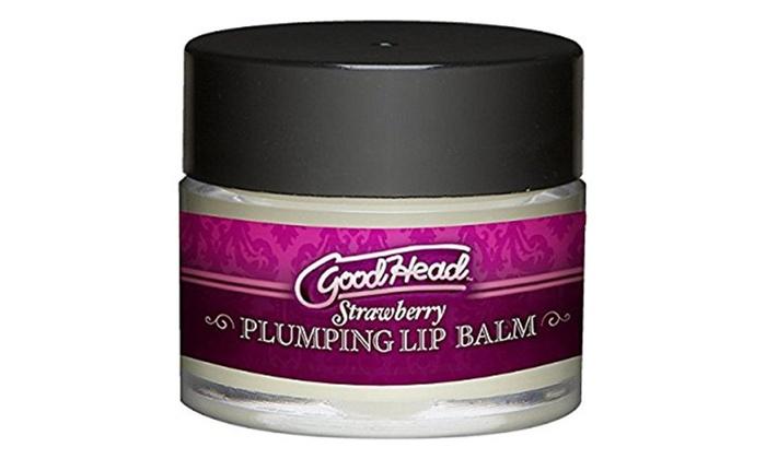 Goodhead plumping lip balm