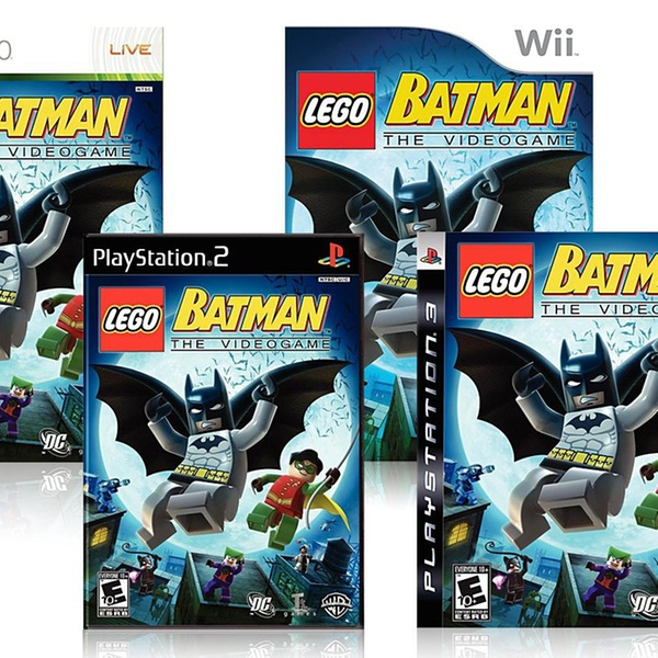 Lego Batman For Ps2 Ps3 Pc Xbox 360 Or Nintendo Wii Groupon