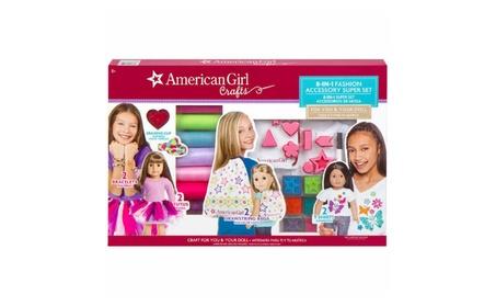 "NEW! American Girl Craft 8-in-1 Fashion Accessory Super Set, ""No-Sew 82c8580c-9264-4bc0-a9f3-db1fd43ac81b"
