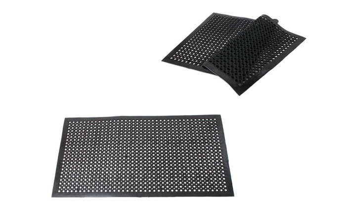2PCS Indoor Commercial Heavy-Duty Anti-Fatigue Floor Mat 36x60 ...