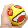 Premium 12 Big Happy Face Hand Wrist Finger Exercise Stress Ball