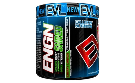 Evlution Nutrition ENGN SHRED Pre workout Thermogenic Fat Burner