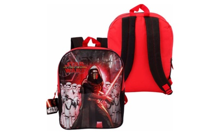 "Star Wars Force Awakens Kylo Ren Backpack - 15""H 57a83f29-76f5-42e8-9b1d-5ed7d201cb97"