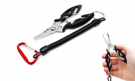 Portable Fishing Pliers Stainless Steel Fishing Pliers Saltwater Fishing Gear