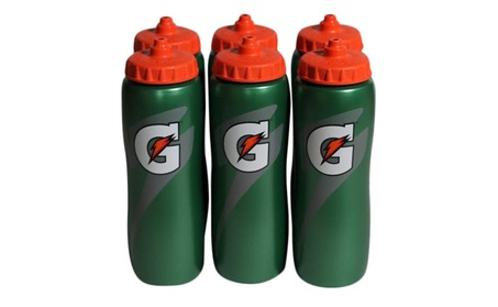 Gatorade 32 Oz Squeeze Water Sports Bottle - 6 Pack 2cb2ac17-7bb8-4a87-b80a-e6ee80790710