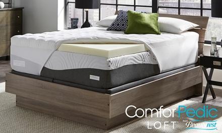ComforPedic Loft 4.5'' Quilted Memory Foam Mattress Topper by Beautyrest