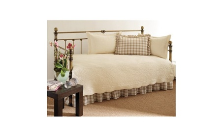 Stone Cottage Trellis Daybed Set, Ivory 545477ad-b67a-48b9-b050-2797be7e2433
