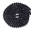 Multi Layer White Black Round Bead Long Maxi Necklace for Women
