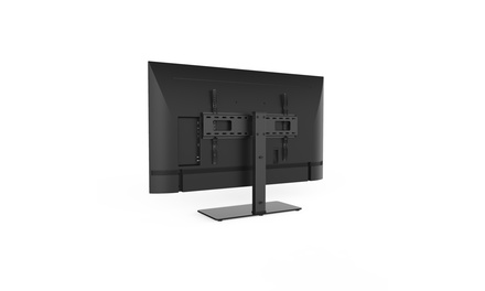 Large Tabletop TV Stand Mount with 35 degree Swivel for 37in-70in TVs