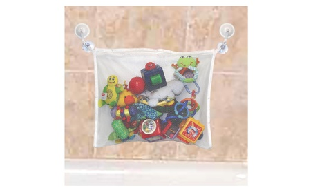 Bath Toy Organizer + 2 Hooked Strong Suction Cup 0fa92cb5-6bc1-4591-a546-f0000365a122