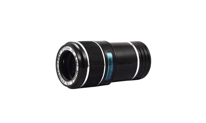 12x universal telephoto lens mobile phone optical zoom telescope
