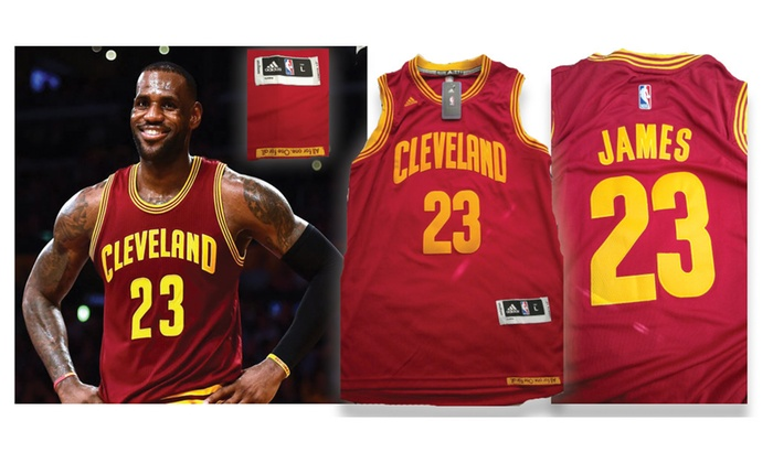 pretty nice e95a9 56662 Lebron James Cleveland Cavaliers Red Jersey (Size Adult Large)