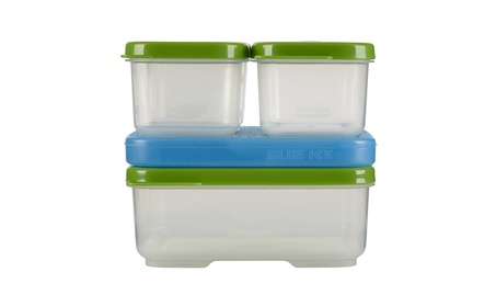 Rubbermaid LunchBox Sandwich Kit, Food Storage Container, Green 91cdfa8a-a339-45a1-a876-e7d042ec07a6
