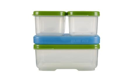 Rubbermaid LunchBox Sandwich Kit, Food Storage Container, Green 37e3a25b-31d7-442e-b979-ed72b8e0fcde
