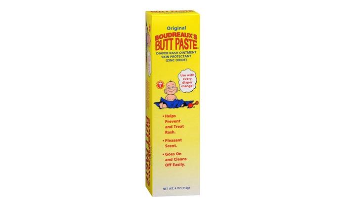 Boudreaux's Butt Paste Diaper Rash Treatment 4 oz