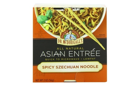 Dr. Mcdougall's Asian Entree, Spicy Szechuan Noodle, 2 Ounce (Pack of ad6ba532-f665-4960-abc9-c9120f2c59b8