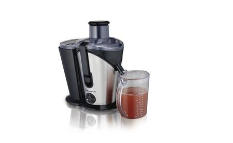 Juice Extractor, 2- Speed Big Mouth, Black photo