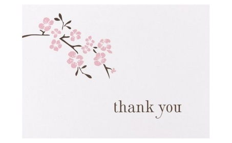Hortense B. Hewitt 77311 Cherry Blossom Thank You Cards 86b851b8-a603-4dae-8016-41410ceb5031