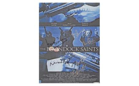 The Boondock Saints Autographed Movie Poster 01f8b83c-4aff-4451-a447-fcf14d79df72