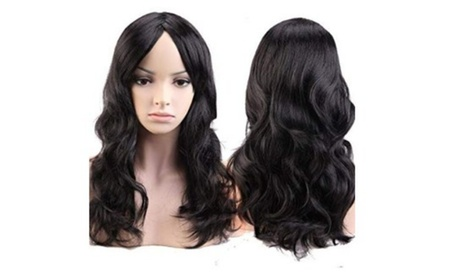 Long Curly Fashion Costume Party Anime Wig
