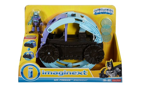Fisher-Price Imaginext DC Super Friends Mr. Freeze Snowcat Figure 8017883d-aa9b-45de-9aaa-ef3bd0c7e98d