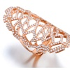 Fashion Knuckle Long Tiny Stone Rings for Women