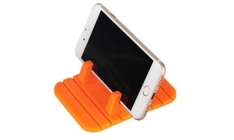 Anti-Slip Silicone Car Dash Pad Mat Cell Phone Holder Mount Cradle Dock- 2 Pack 6c1a5253-9370-4b0f-ab5b-ef7f3005b140