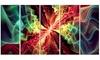 Groupon Goods: Hypnotize Abstract Glossy Aluminium Art artwork